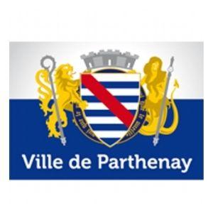 Logo de la ville de Parthenay qui est partenaire de GeoGaming