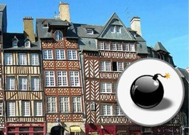 Illustration parcours géocaching - Sauver Rennes en moins de 30 minutes