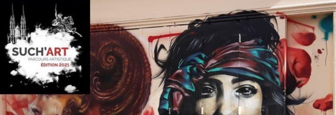 couverture Balade avec les graffeurs clermontois