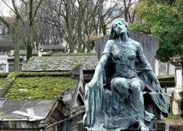 Visite du cimetière de Montmartre